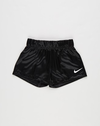 Nike Girl's Black Shorts - Dazzle Shorts - Kids - Size 4 YRS at The Iconic