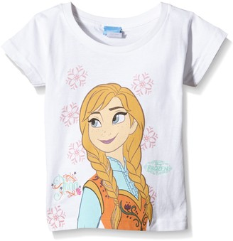 Disney Frozen Girls Anna Snowflake T-Shirt