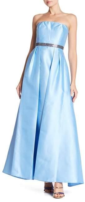 Marina Strapless Ball Gown