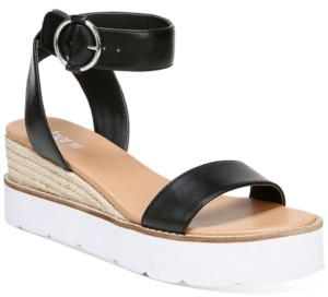 Bar III Dessi Two-Piece Flatform Wedge Sandals, Created for Macy's Women's Shoes