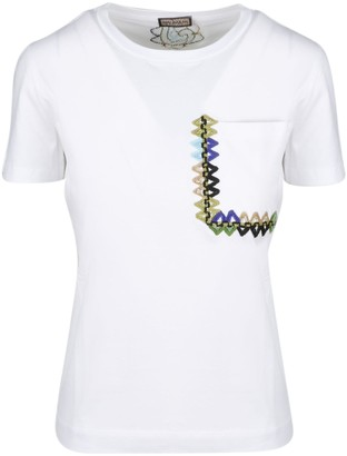 Maliparmi Summer Embroidery T-shirt