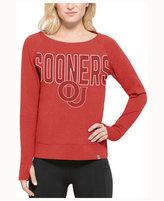 '47 Women's Oklahoma Sooners React Raglan Long Sleeve T-Shirt