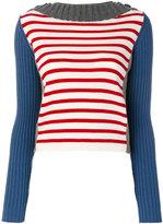 Semi-Couture Semicouture striped sweater