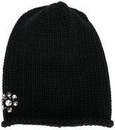 Inverni embellished knitted hat