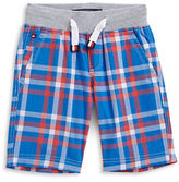 Tommy Hilfiger Plaid Drawstring Shorts