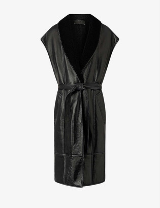 Joseph Jae Teddy shearling reversible coat