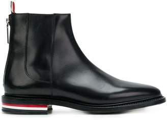 Thom Browne Fitted Zip-up Chelsea Boot