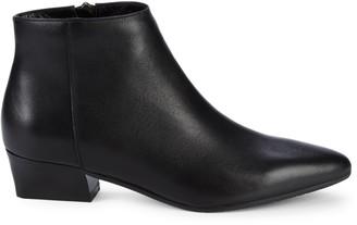 Aquatalia Fosca Leather Ankle Boots