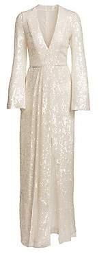 Galvan Women's Moonlight Sequin Gown