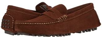 Sebago Russel Suede (Dark Brown) Men's Shoes
