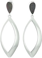 Robert Lee Morris Large Teardrop Stone Accent Earrings