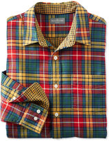 L.L. Bean Signature Double Cloth Shirt, Tartan