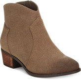 Call it SPRING Gwerraviel Faux-Suede Ankle Booties