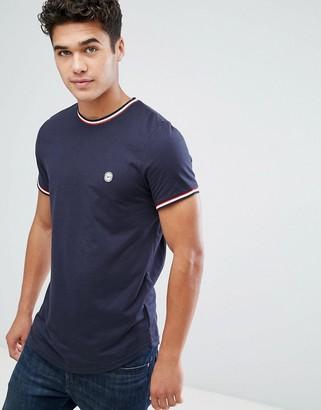 Le Breve Ringer T-Shirt-Navy