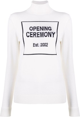 Opening Ceremony Box Logo Turtleneck Jumper