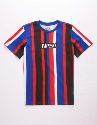 Neon Riot NASA Stripe Red Boys T-Shirt