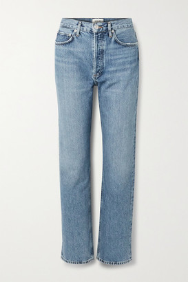 AGOLDE '90s High-rise Straight-leg Jeans - Blue