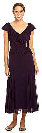 Alex Evenings Mock 2-Fer Dress