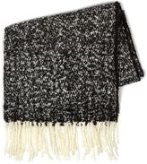 Topman Black And White Blanket Scarf