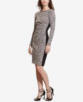 Lauren Ralph Lauren Petite Two-Toned Sheath Dress