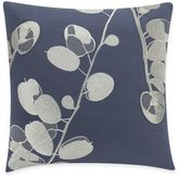 Kas Gabriel Square Throw Pillow in Navy