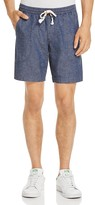 Michael Bastian Chambray Jogger Shorts