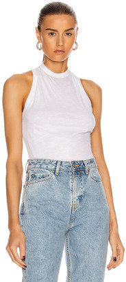 RtA Sabrina Tank Top in White | FWRD