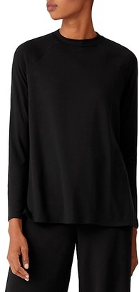 Eileen Fisher Crewneck High-Low Tunic