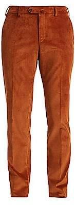 Loro Piana Men's Slim-Fit Wide Wale Corduroy Pants