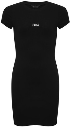 M&Co Teen ribbed dress