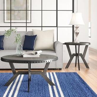 Three Posts Bairoil 2 Piece Coffee Table Set
