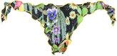 Ermanno Scervino cactus print bikini bottoms