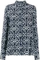Jil Sander printed loose fit shirt