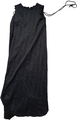 Song For The Mute Black Wool Dresses