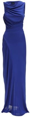 Ruched Viscose Jersey Dress
