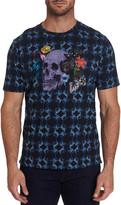 Robert Graham Men's Speed Limit Batik Skull-Print T-Shirt