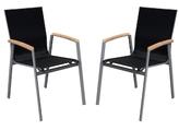Westport Outdoor Patio Dining Chairs (Set of 2)