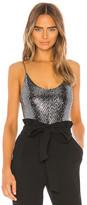 Alice + Olivia Emilia Spaghetti Strap Bodysuit