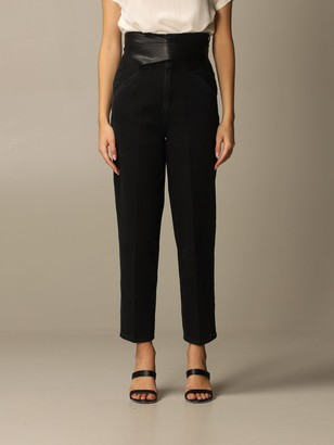 Pinko Shelby Jeans In Regular Stretch Denim With Belt