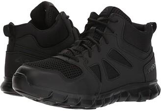 Reebok Work Sublite Cushion Tactical Mid (Black) Men's Boots