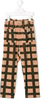 The Animals Observatory - plaid trousers - kids - Cotton/Polyester - 8 yrs