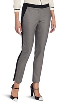 Vince Camuto Women's Houndstooth Colorblock Pant