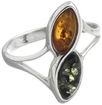 Nature D'ambre Nature d 'Ambre 3111181Women's Ring Silver 925/1000Amber