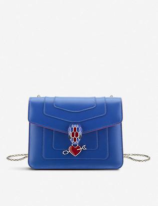 Bvlgari Electro Love Serpenti Forever leather shoulder bag