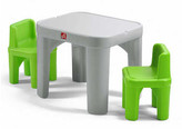 Step2 Mighty My Size Kids 3 piece Table & Chairs Set