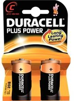Duracell C Batteries x 2