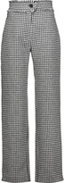 J.W.Anderson Houndstooth wool-blend straight-leg pants