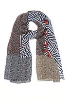 Diane von Furstenberg New Boomerang Silk Scarf
