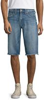 True Religion Geno Cropped Shorts