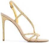 Le Silla slingback open toe sandals
